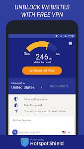 Rocket VPN Free – Internet Freedom VPN Proxy 1.29
