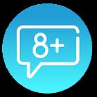 S8+ Messenger - Samsung galaxy S8+ Message icon