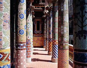 Photo: Palau de la Musica Catalana, Columns