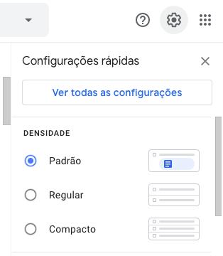 Acessar Configurações no Gmail - HostGator