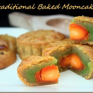 Baked Moon Cakes.