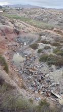 Photo: Efectes de la sequera al toll. Agost 2014