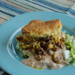 Mac Attack!! Cheeseburger Casserole