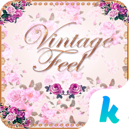 Vintage Feel Kika Keyboard 娛樂 App LOGO-硬是要APP
