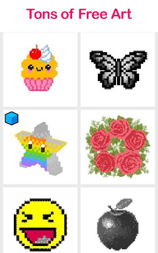 Pix.Color - Color By Number Pixel Art  screenshots 4