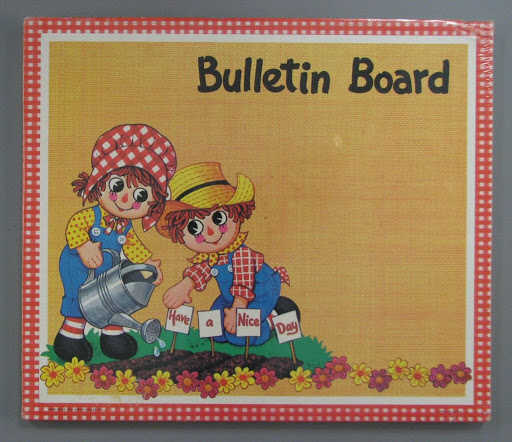 Bulletin board:Raggedy Ann and Andy Bulletin Board