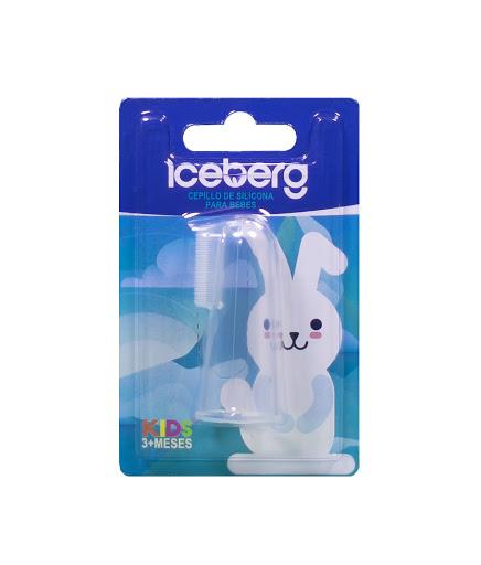 Cepillo De Silicona   Iceberg Para Bebes