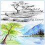 Drawing Scenery APK icon