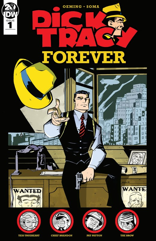 Dick Tracy Forever (2019) - complete