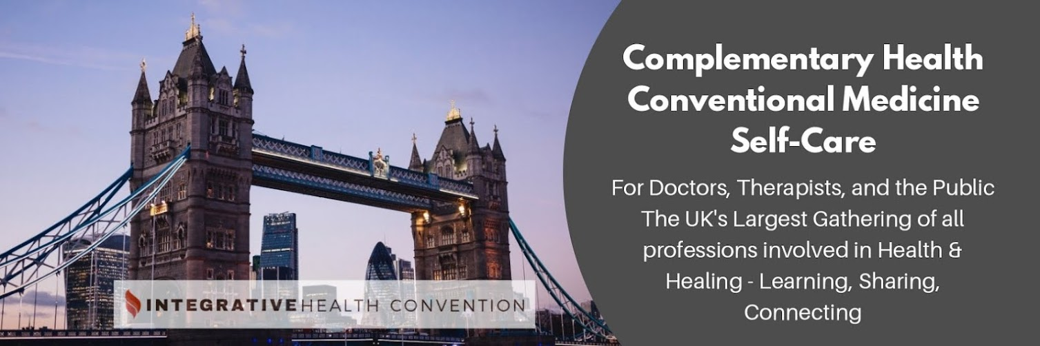Integrative Health Convention 26th & 27th September 2020 (CANCELLED - pending 2021 dates)