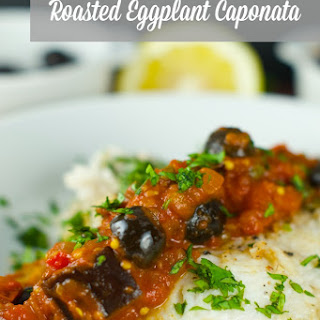 Fish with Eggplant Caponata Sauce Recipe