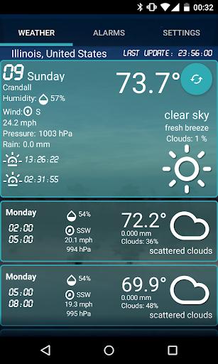 Custom Weather Alerts 4.7 screenshots 1