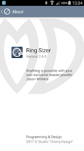 Ring Sizer from Jason Withers- screenshot thumbnail