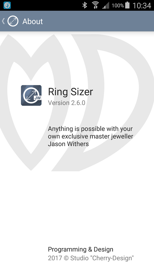 Ring Sizer from Jason Withers- screenshot