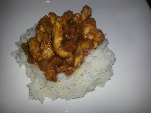 Wok Madras Chicken Curry