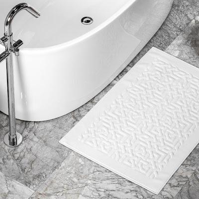Коврик для ванной Togas Мира белый 70х120 см