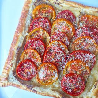 Tangy Tomato Mustard Tart / Tarte Tomate à la Moutarde