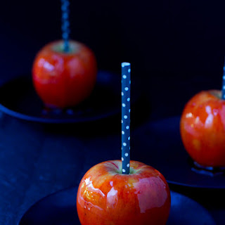Orange Candy Apples