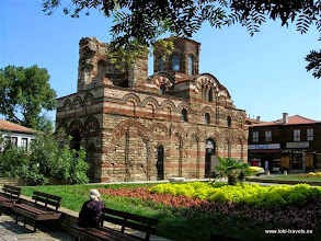 Photo: Nessebar, Jezus Christus Pantocrator kerk (13-14 eeuw) | Jesus Christ Pantocrator church (13th-14th century).  www.loki-travels.eu