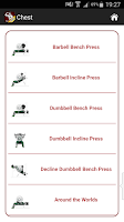 Screenshot of Mega Muscle Gain Workout FREE