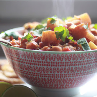 Slow-Cooker Indian-Spiced Chickpeas & Red Potatoes