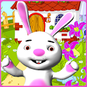 Talking Bunny Easter icon
