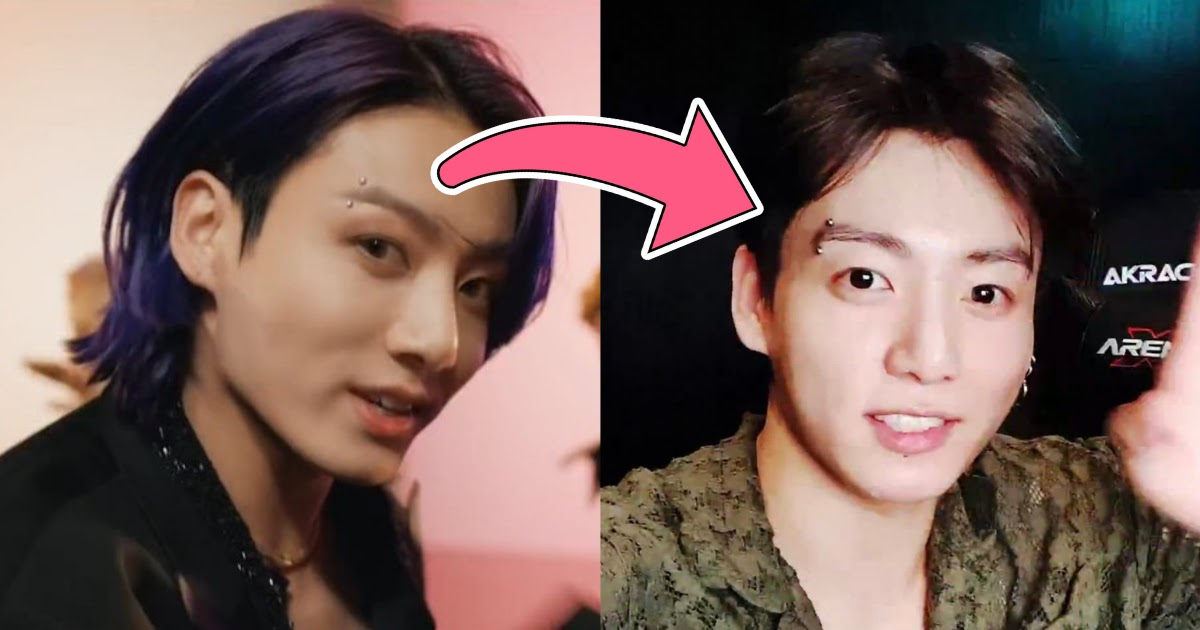 Bts S Jungkook Puts The Mystery To Rest And Confirms His Eyebrow Piercing Is Real Koreaboo