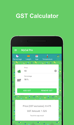 MyCal Pro - All in One Calculator & Converter ss1