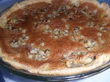 Black Walnut Pie My Way