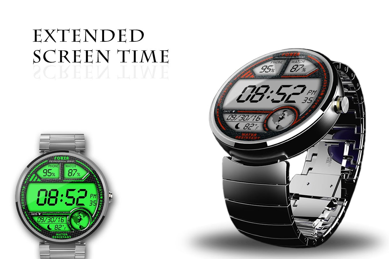 Facer android wear - Watch Face W03 Android Wear Screenshot