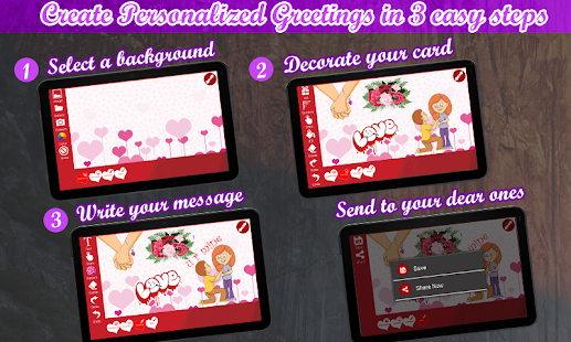 Love greetings ecards maker apps on google play screenshot image m4hsunfo