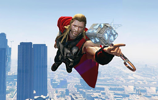 Grand Avenger City Superhero 1.0 screenshots 4