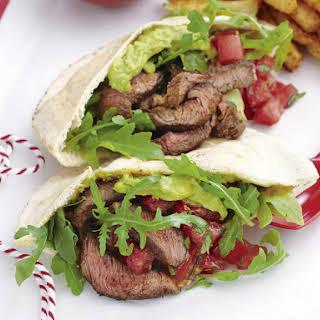 Steak Gyros with Fries.