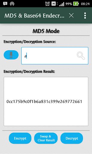 MD5 Base64 Endecryptor
