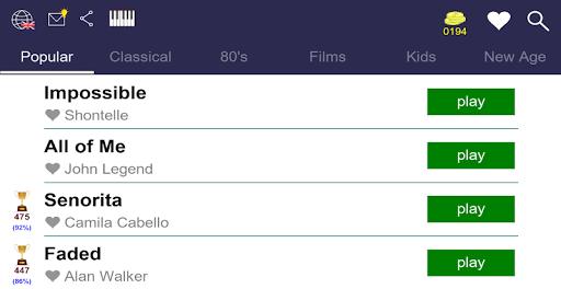 Piano Tutorial: Popular Melodies 1.0.21 screenshots 2