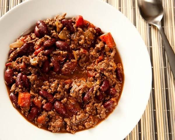 Spicy Chili With Beans Recipe