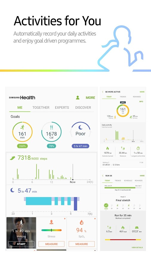 Samsung Health- screenshot