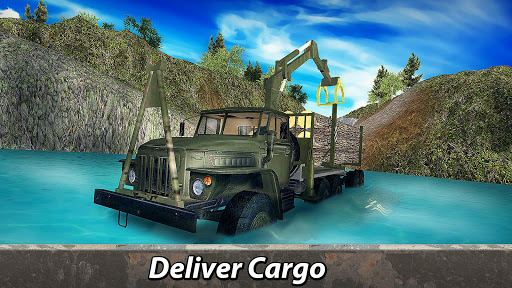 ud83cuddf7ud83cuddfaud83dude9bRussian Truck 6x6: Offroad Driving Simulator android2mod screenshots 11