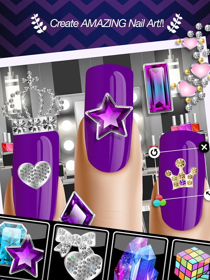 Nail Salon™ Manicure Girl Game- screenshot