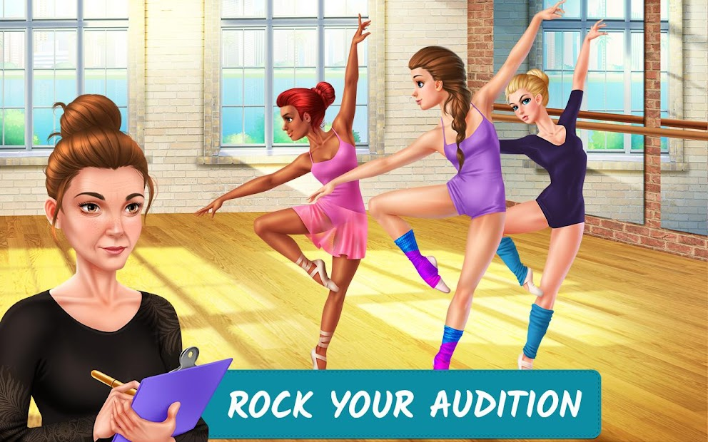 Dance School Stories - Dance Dreams Come True Android App Screenshot