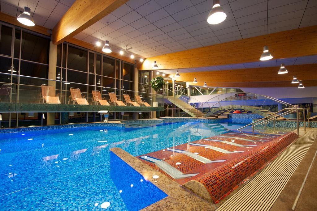 Бассейн в отеле и СПААква