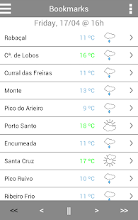 MadeiraWeather- screenshot thumbnail