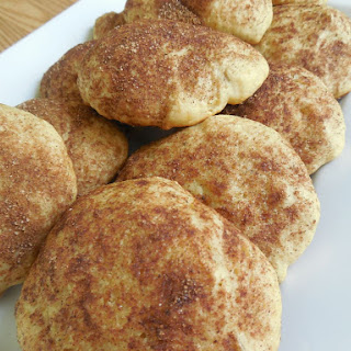 Banana Bread Snickerdoodle Cookies