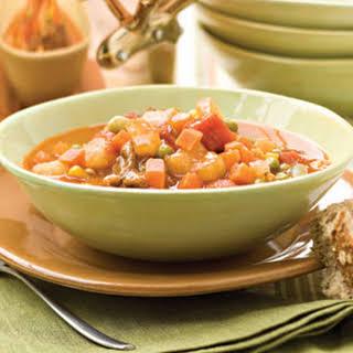 Beef Vegetable Soup.