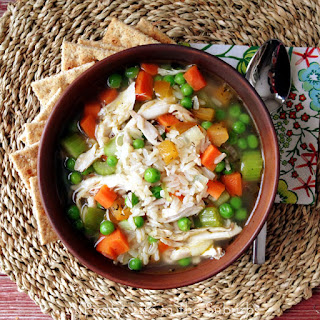 30 Minute Chicken & Rice Soup