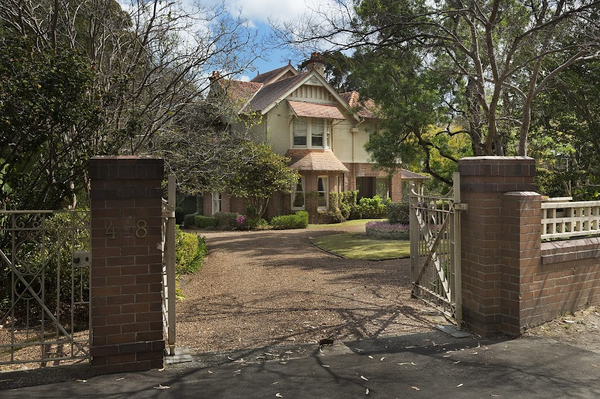 Redhall, the historic Wahroonga estate, is for sale for only the second time. Photo: Supplied
