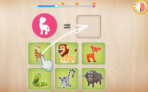 Game Animals Puzzle for Kids 🦁🐰🐬🐮🐶🐵 APK for Windows Phone