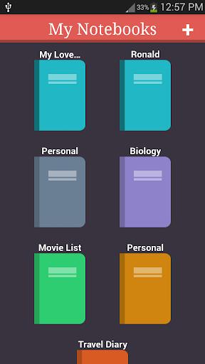 My Notebooks 7 screenshots 1