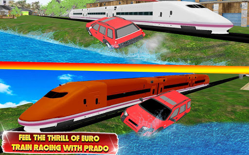 Train vs Prado Racing 3D  screenshots 6