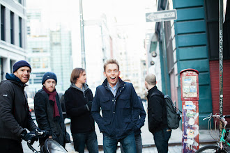 Photo: JFM and friends in NYC (photo by Spyr Media)